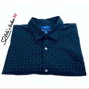 Apt. 9 Premier Flex Slim Fit Button Shirt
